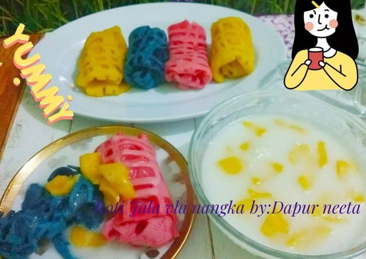 Resep: Roti Jala vla nangka istimewa