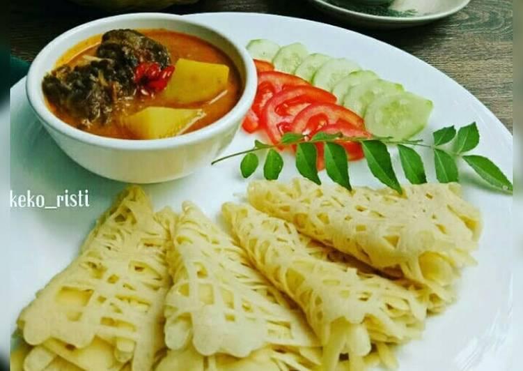 Roti Jala / Roti Kirey