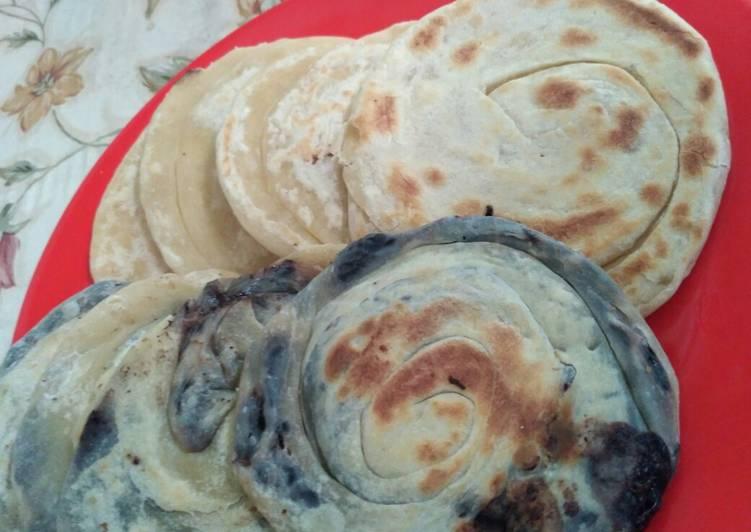 Cara Mudah mengolah Roti Maryam / Roti Jala yang menggugah selera