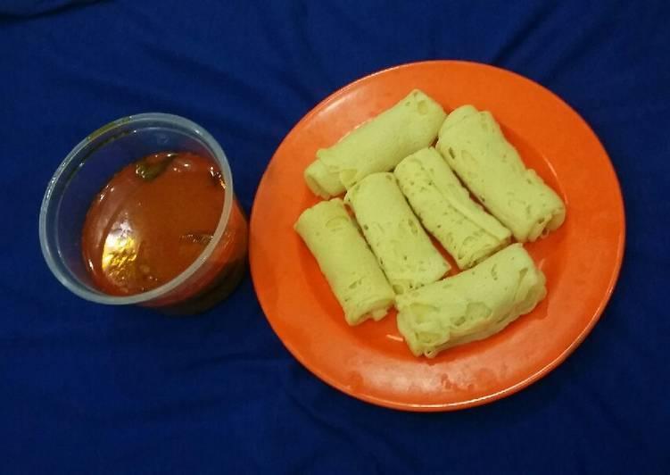 Roti Kirai Kuah Kari Ayam Khas Melayu (NO MSG)