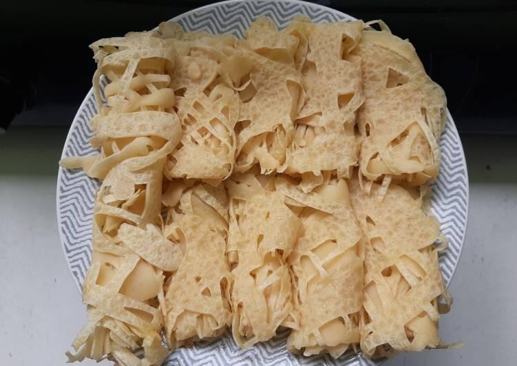 Cara Mudah memasak Roti jala (temennya kari daging) 😆 yang menggugah selera