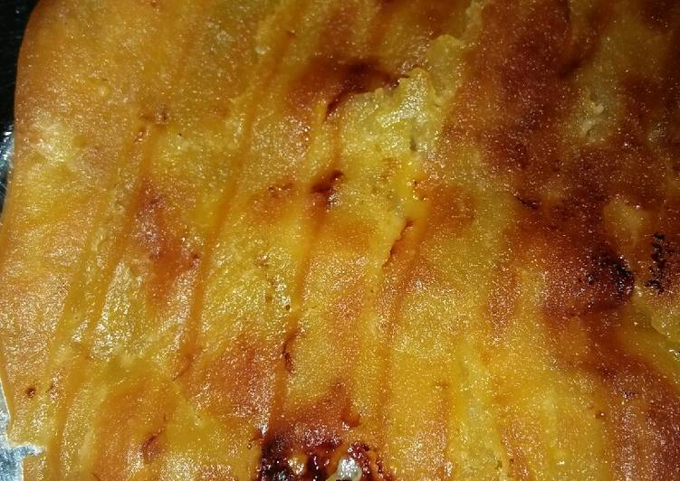 Resep membuat Lempeng pisang (banjar) ala resto