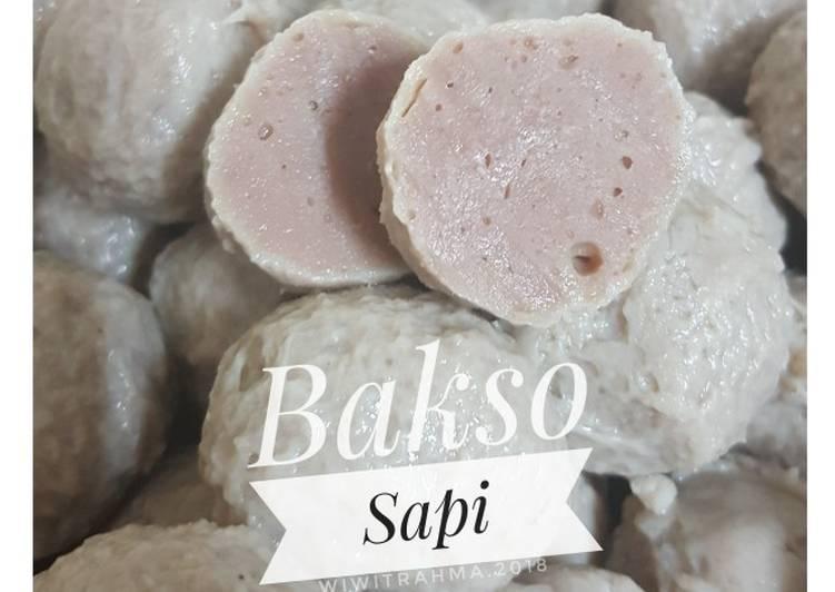 Cara memasak Bakso Sapi homemade ala resto
