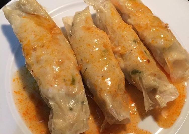 Resep: Dimsum Ayam udang kembang tahu istimewa