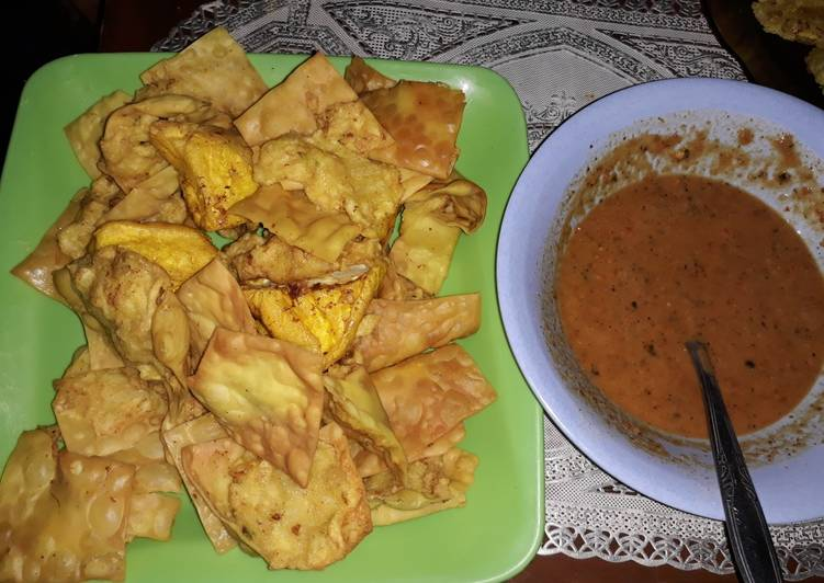 Resep: Batagor suka suka ala resto