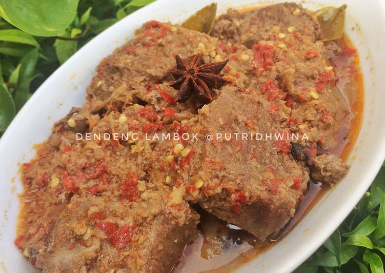 Cara memasak Dendeng Lambok / Dendeng Basah ala resto
