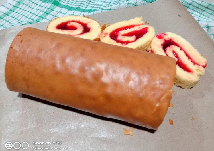 Cara Mudah membuat 💐Bolu gulung simpel🌼 lezat