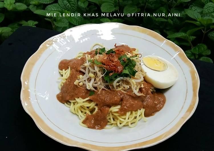 Resep: Mie Lendir khas Melayu yang bikin ketagihan