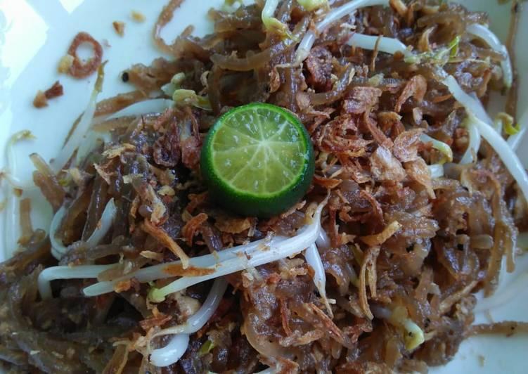 Resep membuat Mie Sagu Goreng Sahang hitam -Ala Natuna- enak