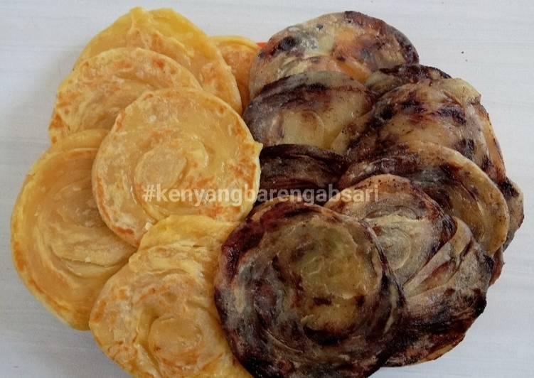 Cara Mudah mengolah Roti Maryam/Canai/Prata yang bikin ketagihan