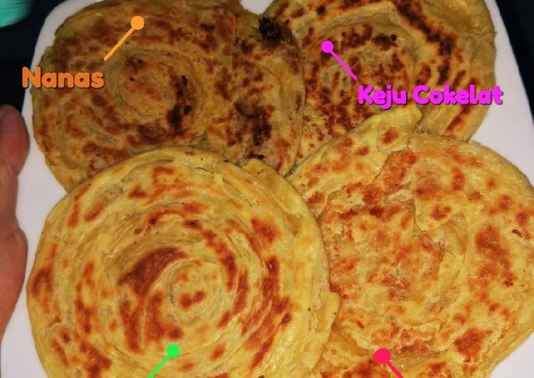 Resep: Roti Maryam/canai/prata yang menggugah selera