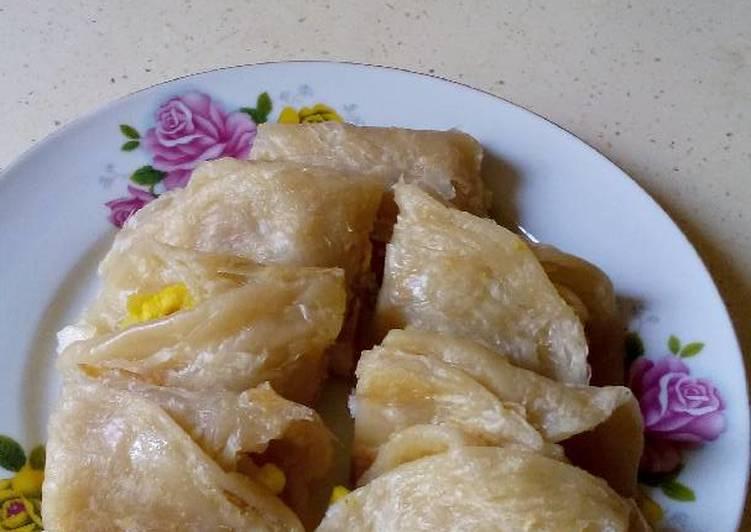 Resep mengolah Kari kentang balut roti prata ala resto