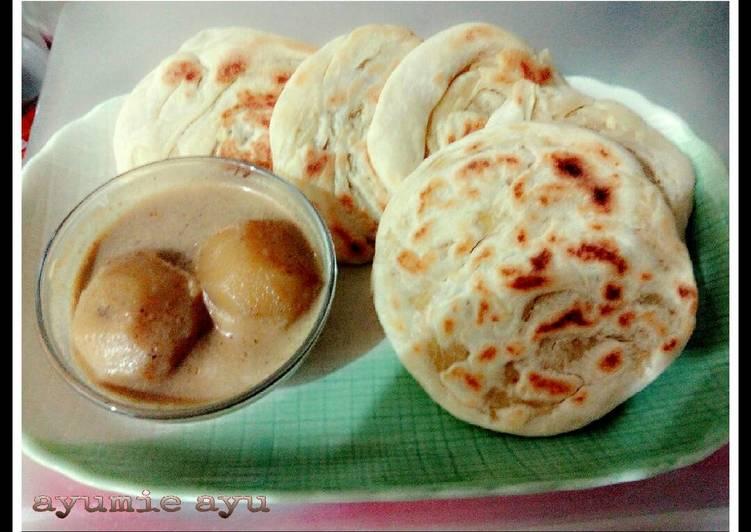 Resep: ◎ Roti Maryam/canai/prata ◎ (∩_∩) yang menggugah selera