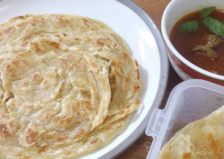 Cara memasak Roti canai / cane aka roti prata yang bikin ketagihan