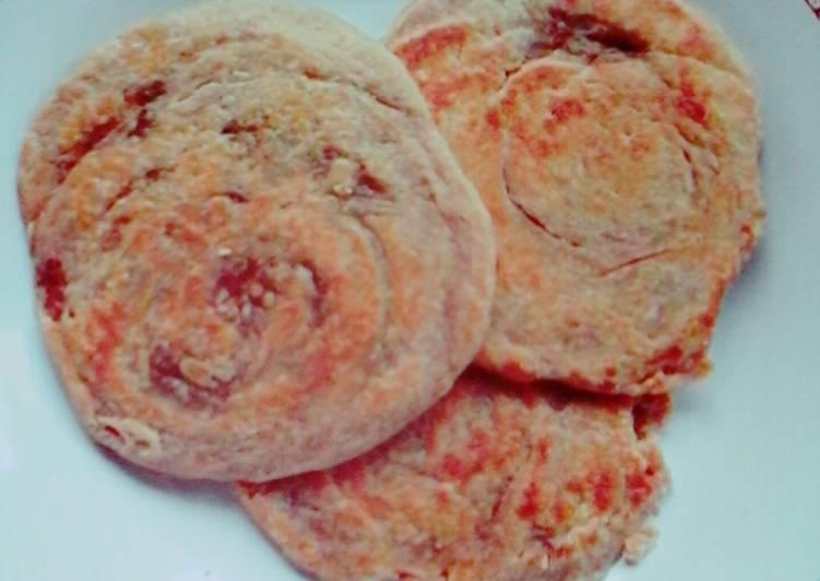 Resep: Roti Maryam/Canai/Prata rasa Coklat yang menggugah selera