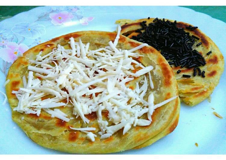 Resep mengolah roti maryam/prata/canai
