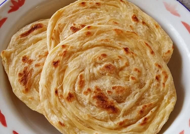 Resep: Roti Canai (Roti Prata) yang bikin ketagihan