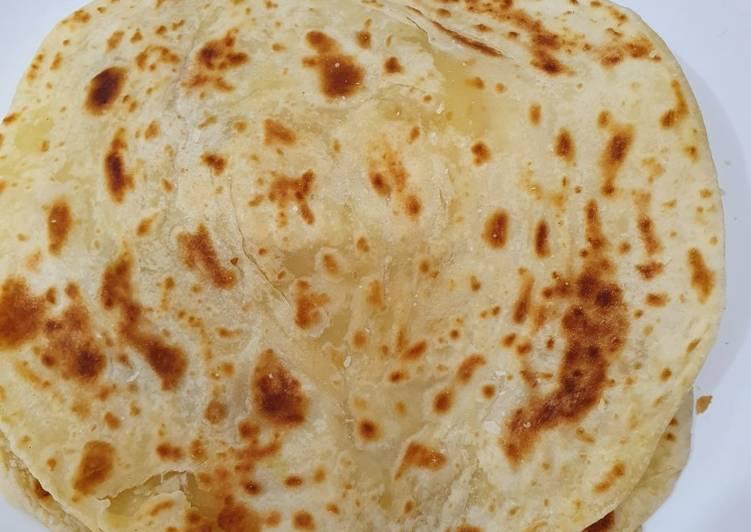Resep: Roti paratha enak