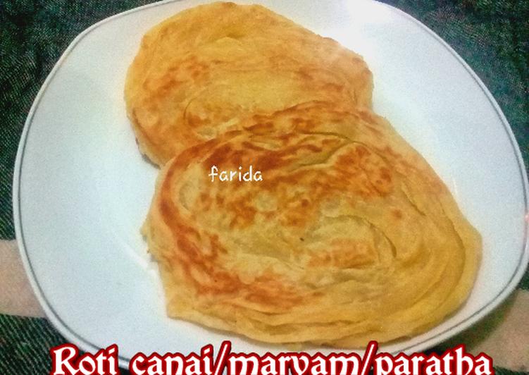 Resep: Roti Canai/ maryam/paratha yang bikin ketagihan