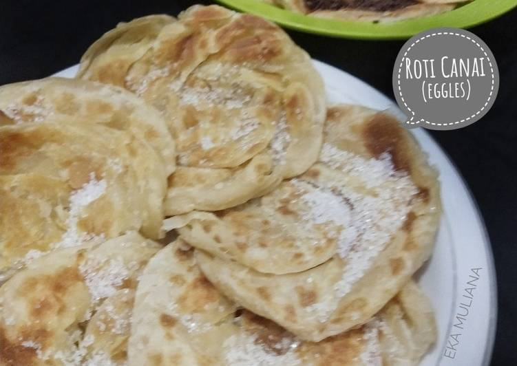 Resep: Roti canai (eggles) ala resto