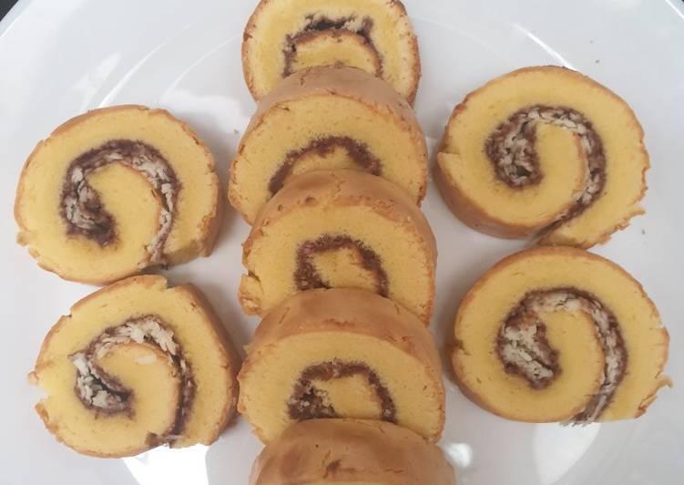 Resep memasak Bolu gulung coklat keju istimewa