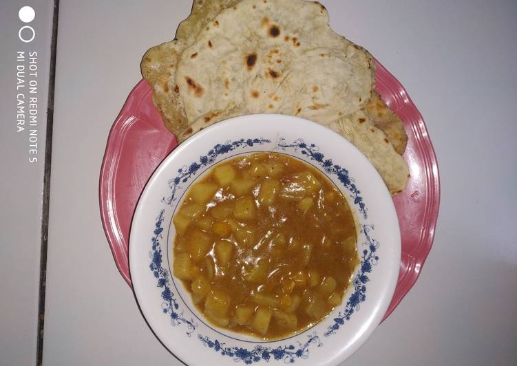 Resep: Curry dan parata ala ramadhan yang menggugah selera