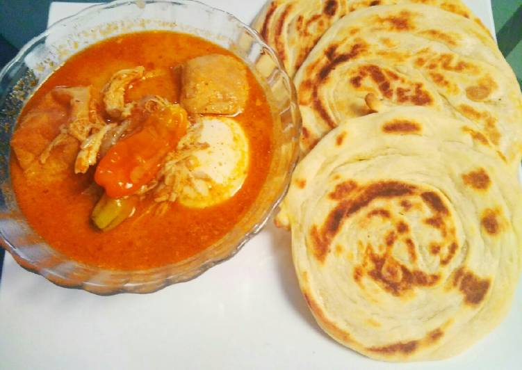 Cara mengolah Roti Maryam/Cane Ala Ala Rumahan yang menggugah selera