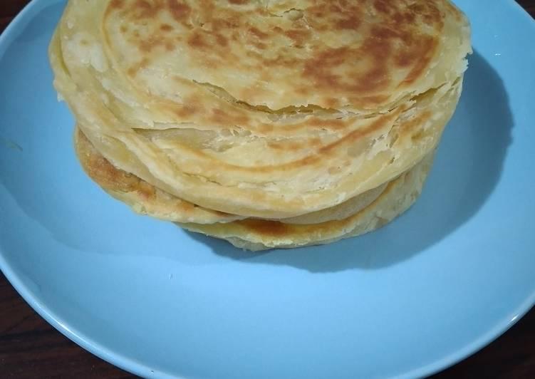 Resep: Roti maryam|canai|pratha sedap