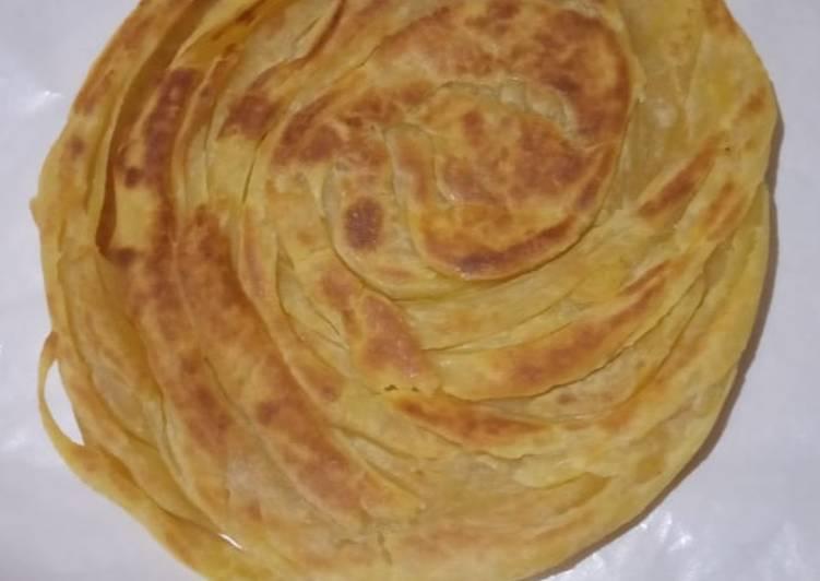 Resep: Roti Maryam/Roti Cane yang menggugah selera