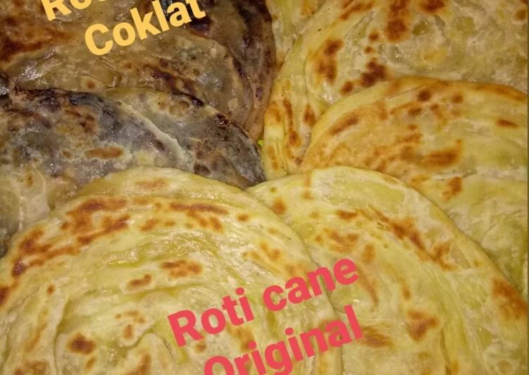 Resep memasak Roti cane / maryam enak