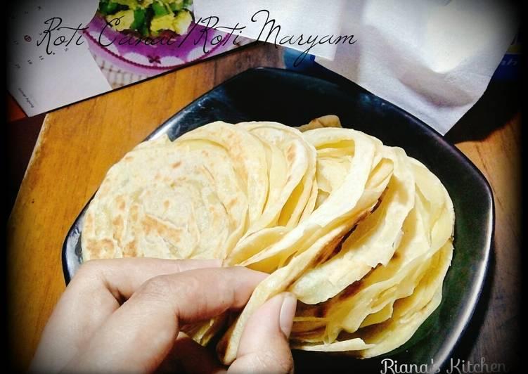 Resep: #Roti Maryam a.k.a Canai/Paratha lembut gurih enak
