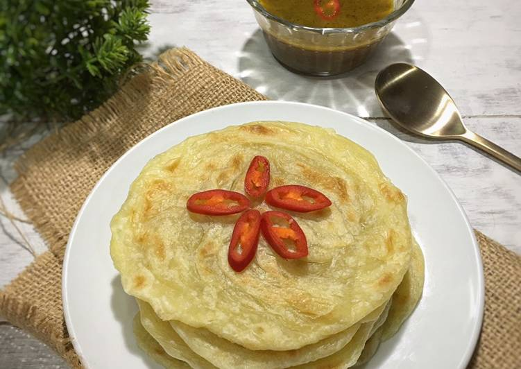 Resep: Roti Maryam/Canai yang bikin ketagihan