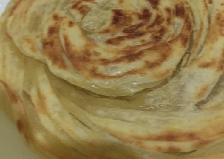 Resep: Roti canai / roti maryam mudah dan simple enak