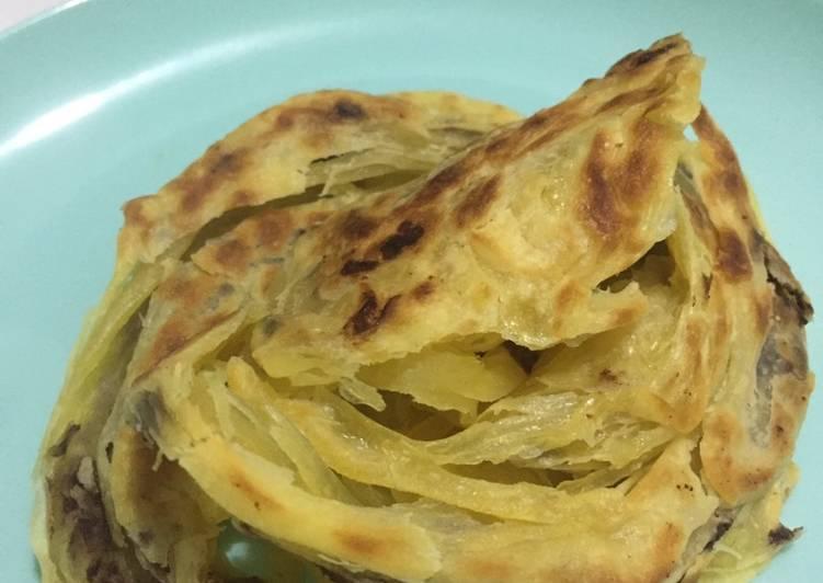 Resep: Roti Canai/ Maryam (frozen) ala resto