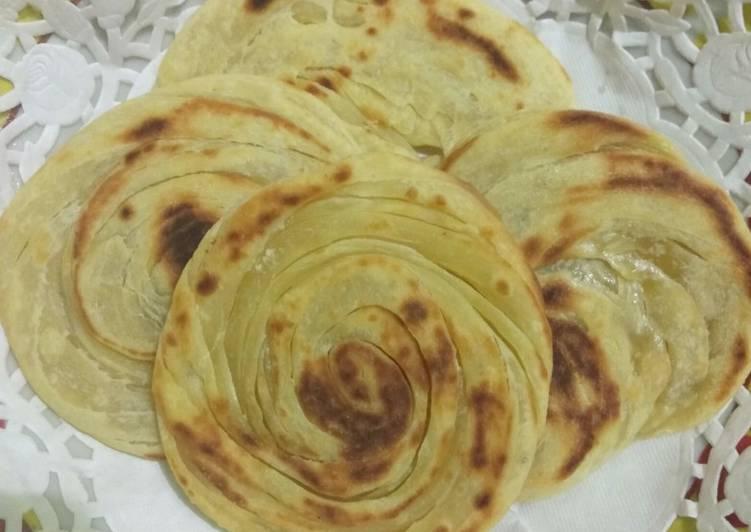 Resep: Roti cane (Maryam) yang menggugah selera