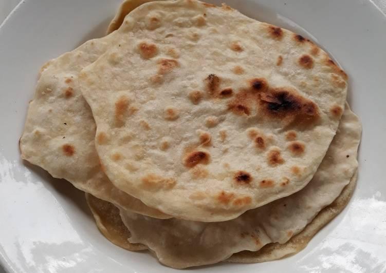 Cara membuat Parata (roti india) yang menggugah selera