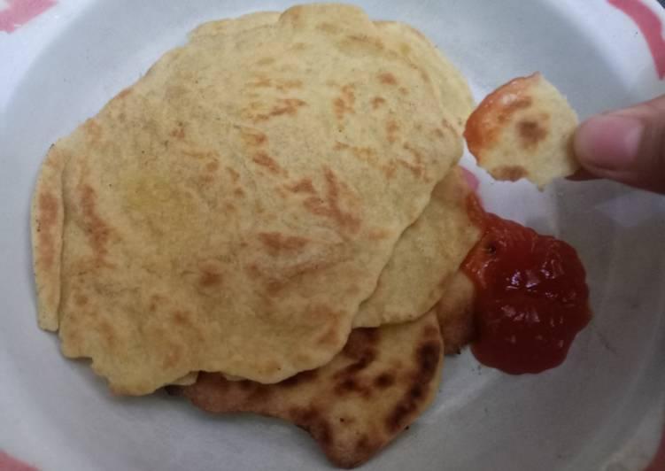 Resep: Roti Paratha simple 3 bahan sedap