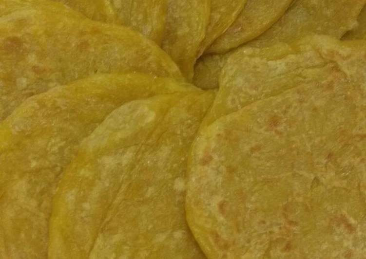 Resep: Roti canai yang bikin ketagihan