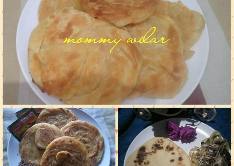 Resep mengolah Roti Maryam atau roti cane lezat