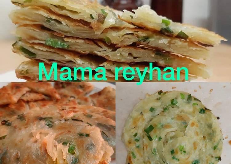 Resep: Roti canai ala taiwan / cong you ping yang menggugah selera