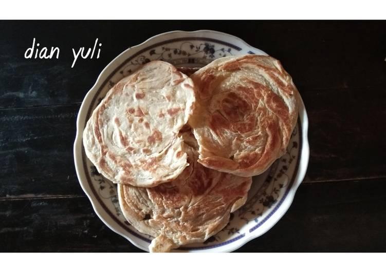 Resep: Roti maryam / roti canai ala resto