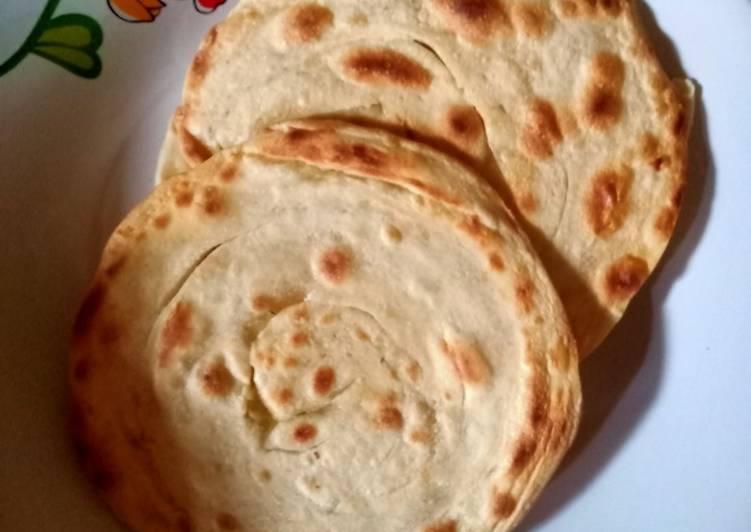 Resep mengolah Roti canai/roti maryam ala resto
