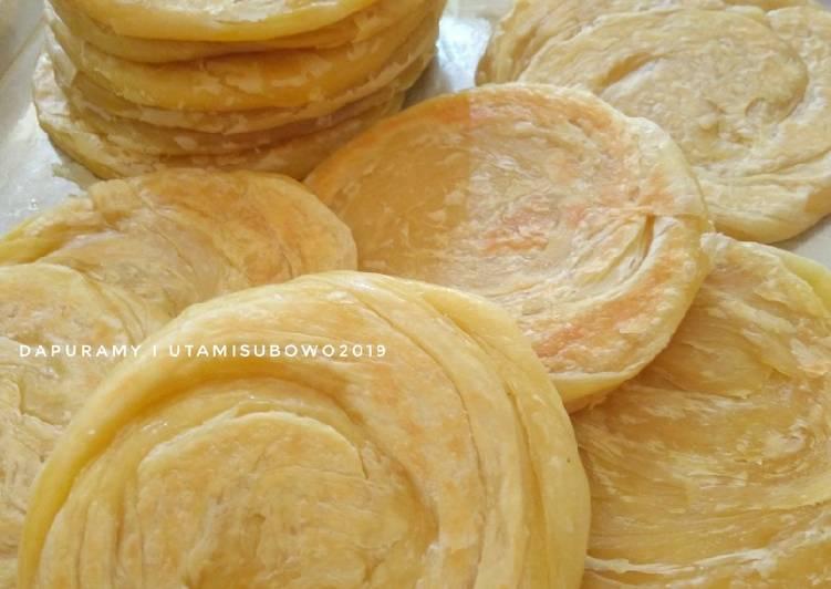 Cara membuat Roti Cane / Canai / maryam yang bikin ketagihan