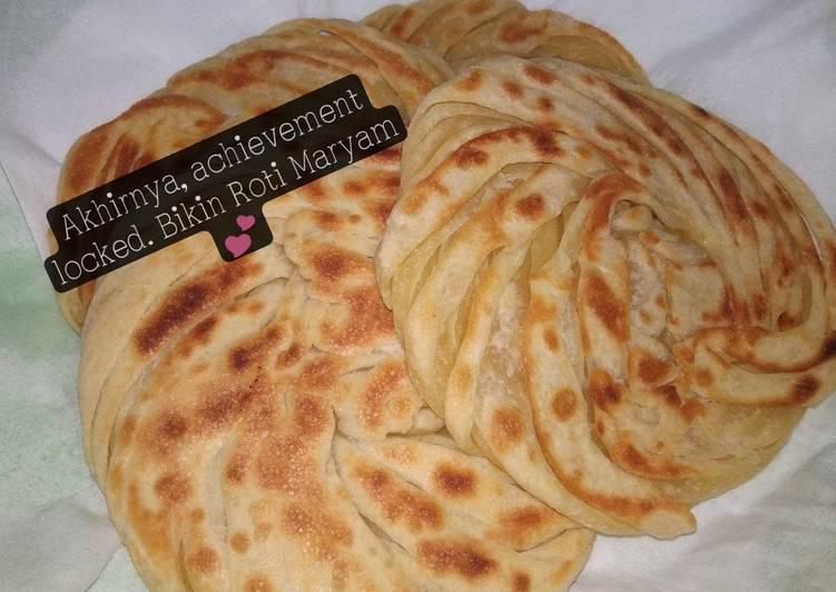 Cara Mudah memasak Roti Maryam / Canai yang menggugah selera