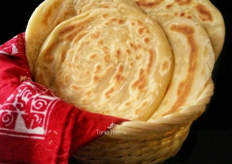 Resep: Basic Paratha / Roti Canai yang bikin ketagihan