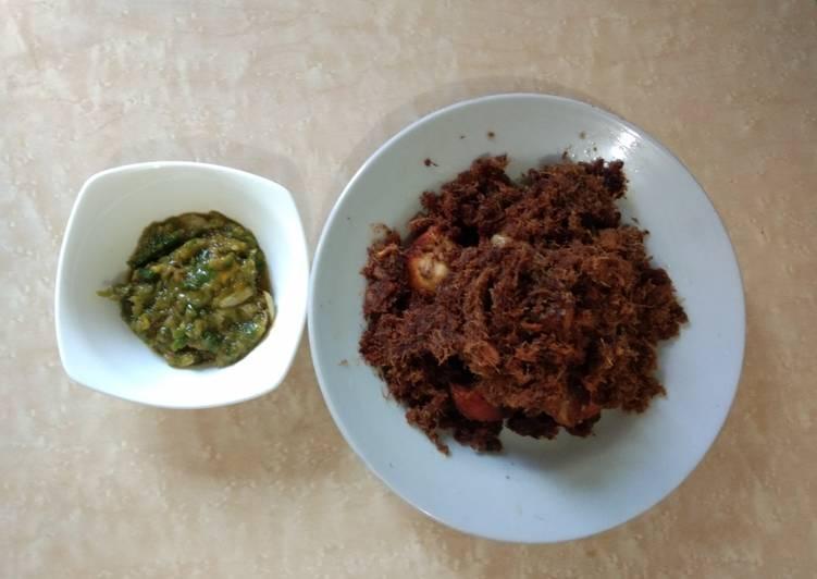 Resep: Sambal rawit mangga yang bikin ketagihan