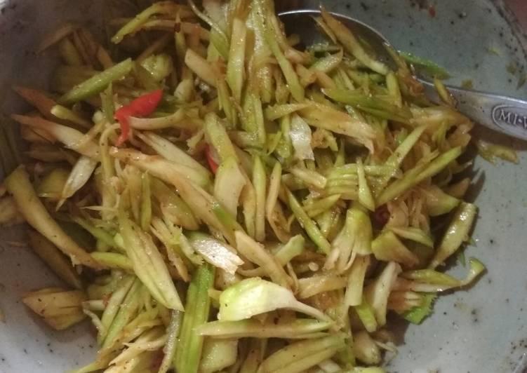 Cara memasak Sambel mangga/jamson sedap