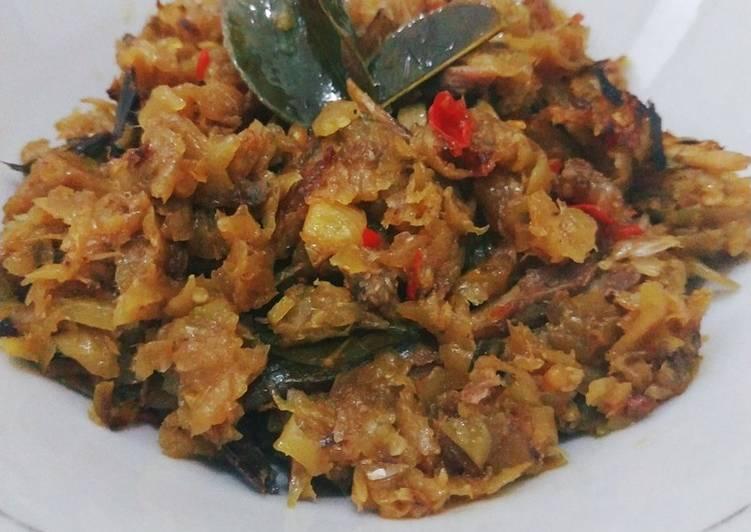 Resep: Sambal pencit (mangga muda) goreng sedap
