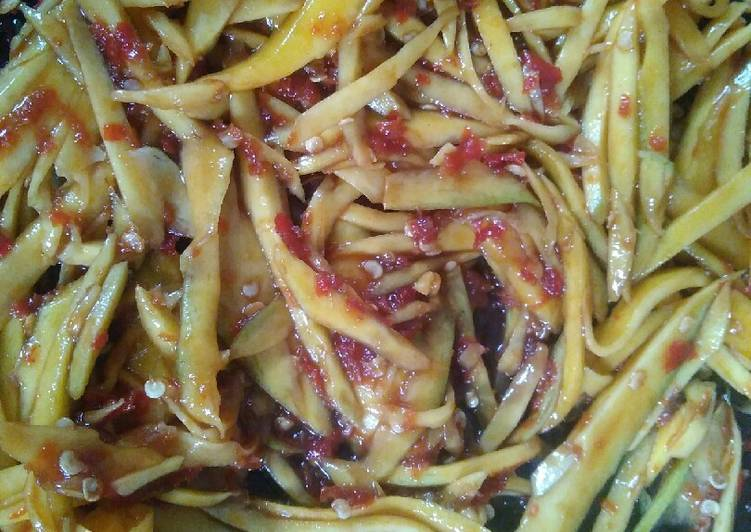 Cara Mudah memasak Sambal mangga yang menggugah selera