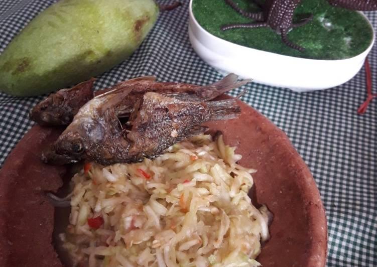 Resep memasak Sambal mangga/pencit istimewa